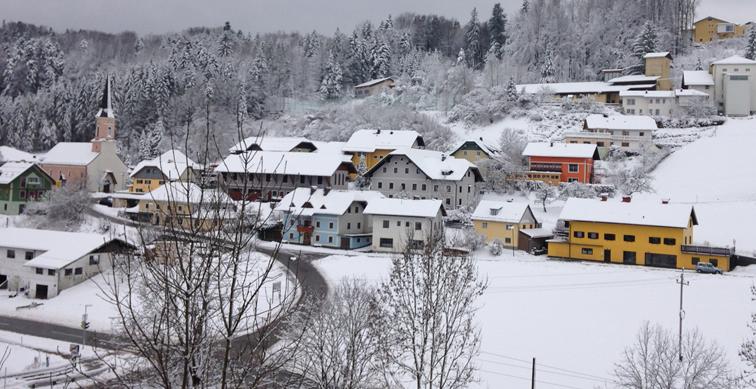 Unsere Gemeinde im Winter